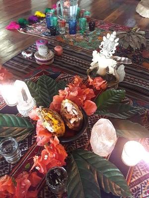 wisdom of breath rasana cacao ceremony