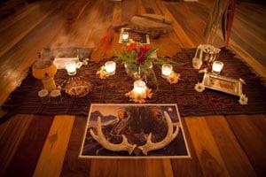 workshops altars drumming dreaming