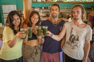 body cleanse detox enema colonics liver flush lectures breathwork juicing superfoods pachamama costa rica