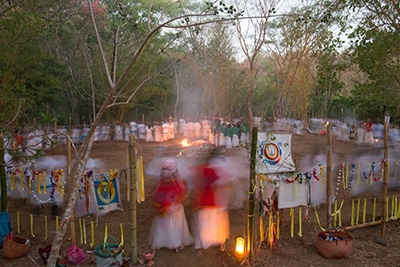 pachamama dual dance prayer fire grandmother ancesters grandfather ceremony