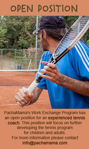 tennis workexchange open position volunteer
