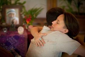 Presence & Self Worth: Silencing the inner critic hug