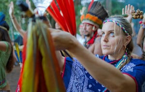 tribal gathering rock journey white night tipi ceremony