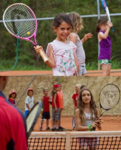 tennis trainer pachamama kids and adults