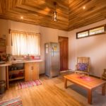 cabinas accommodation kitchen