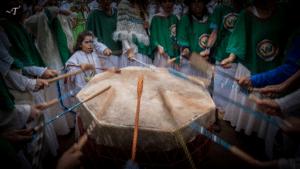 Dual dance drummers tyohar