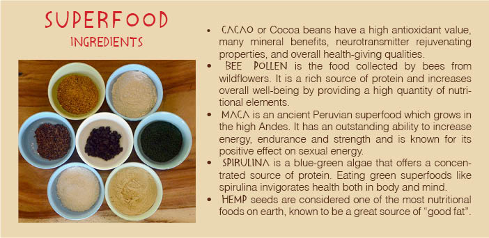 Superfoods-Wild Treats-Juice & Dessert Bar-PachaMama-Costa Rica